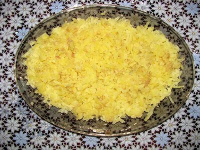 Салат Ананас. Шаг 1. Подготовить картофель