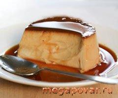 Фото блюда к рецепту *Французский крем-карамель*
