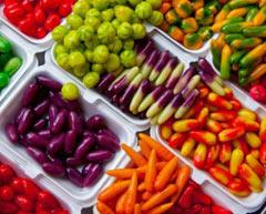 Разноцветные овощи