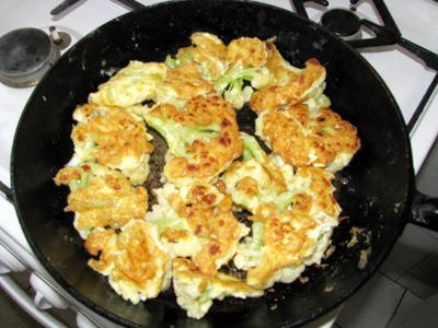 Жареная цветная капуста в яйце рецепты
